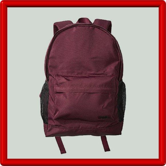 Pink Victoria's Secret Backpack Burgundy NEW
